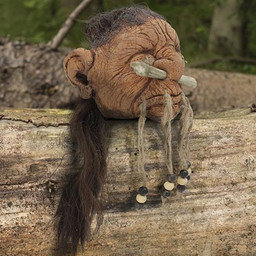 LARP shrunken human head