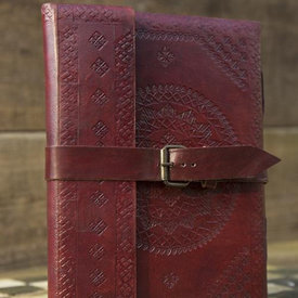 Epic Armoury Leren dagboek Burgos, groot