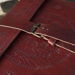 Leder Tagebuch Burgos, groß