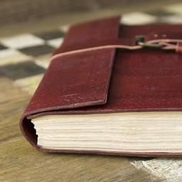 Diario di cuoio Burgos, di grandi dimensioni