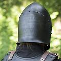 Epic Armoury Helm Sugar Loaf, gepatineerd