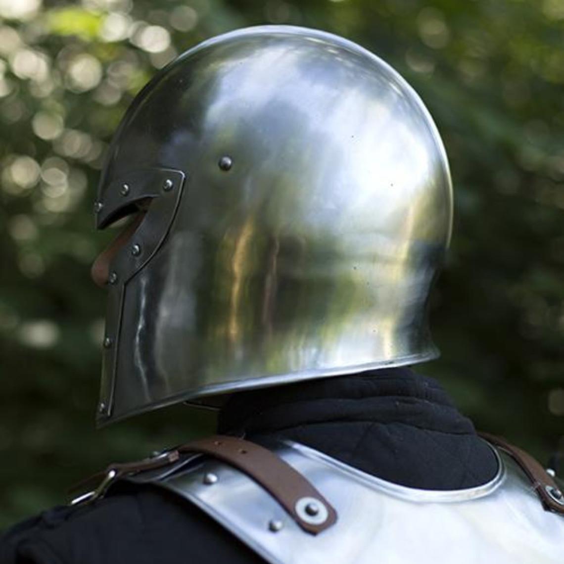Epic Armoury Barbute del siglo 15