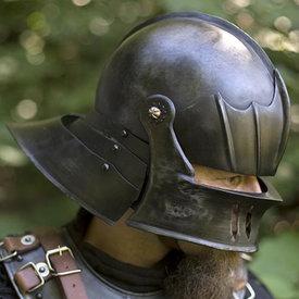 Epic Armoury Sallet del siglo XVI, patinado.