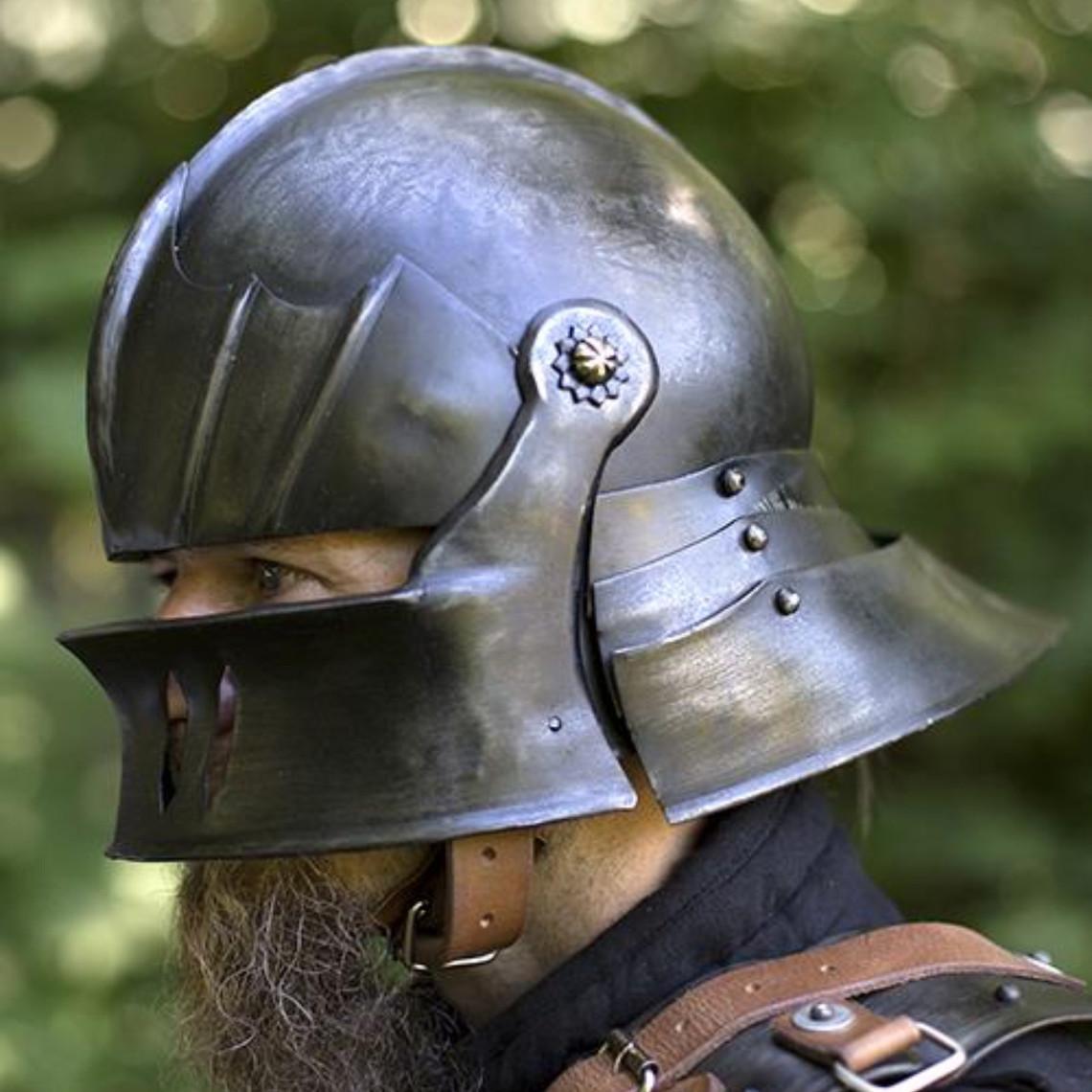 Epic Armoury Schaller aus dem 16. Jahrhundert, patiniert