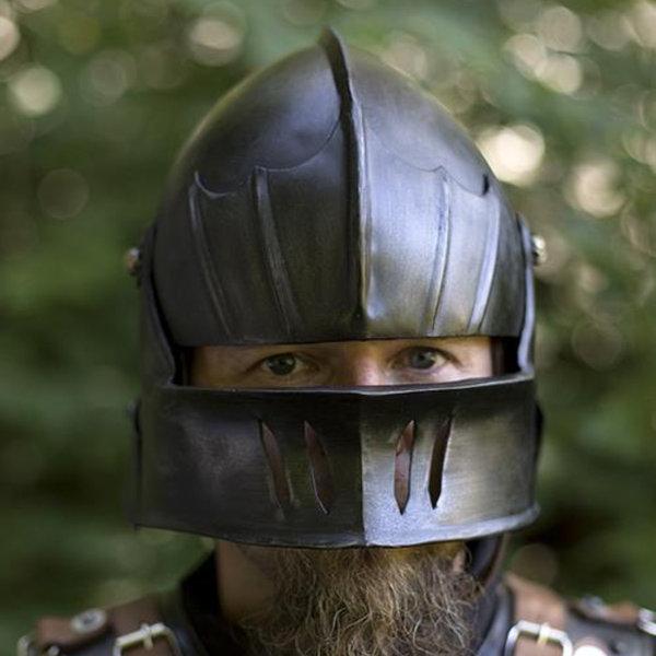 Epic Armoury 16th century sallet patinerad