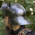 Epic Armoury 16de eeuwse sallet, gepatineerd