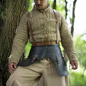 Epic Armoury Escarcelas de lujo con cinturones, patinado
