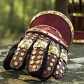 Epic Armoury Luksusowe rękawice Klepsydra, czerwono-złota