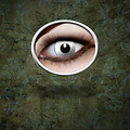 Epic Armoury Contactlenzen zombie wit