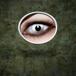 Le lenti a contatto White Zombie
