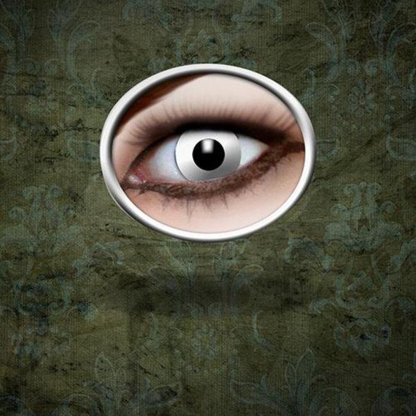 Epic Armoury Kontaktlinser White Zombie