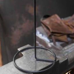 Metal (helmet) stand, black