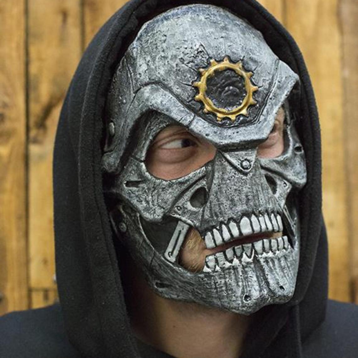 Epic Armoury cráneo de acero máscara