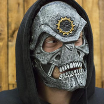 Epic Armoury Mask Stahl Schädel