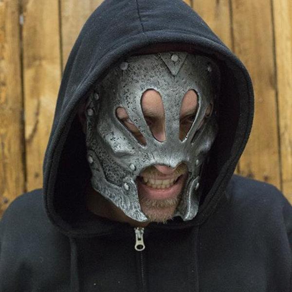Epic Armoury Mask Berserker, sølv