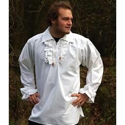 Camisa del pirata, negro
