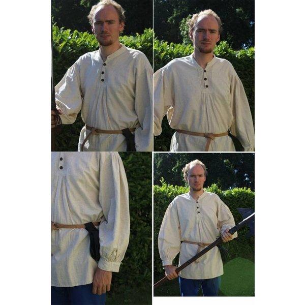 Leonardo Carbone Knap skjorte, sort