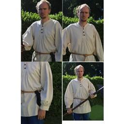 Camisa de botones, blanco