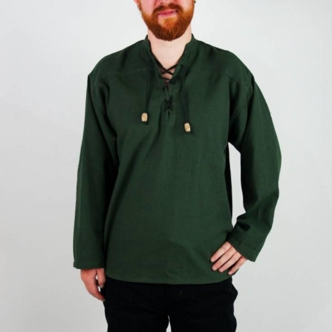 Leonardo Carbone Handgeweven hemd, crème