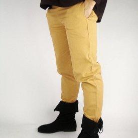 Bomuld bukser, naturlig