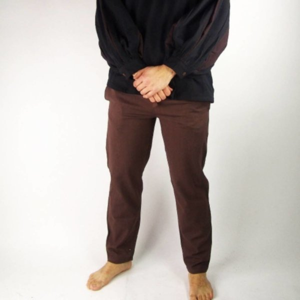 Cotton trousers, natural
