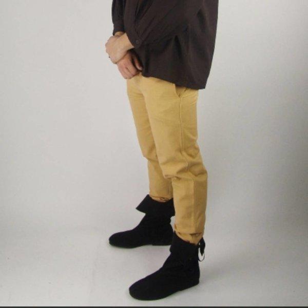 Leonardo Carbone Bomuld bukser, naturlig