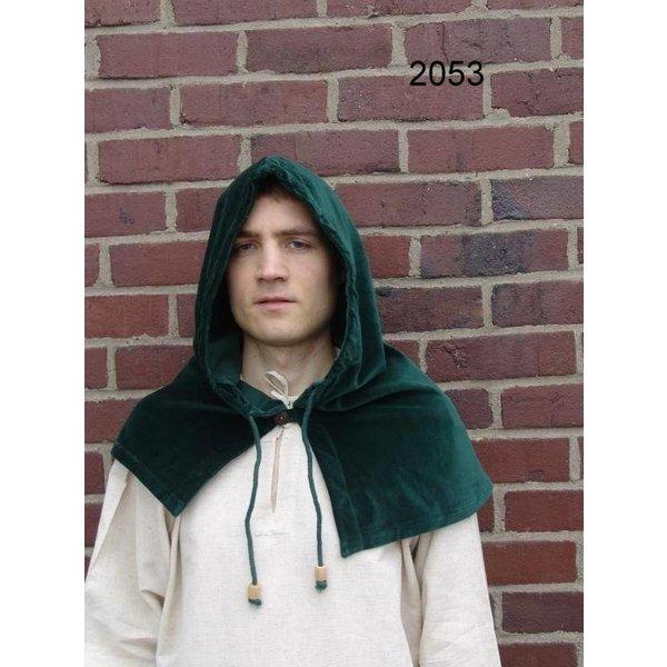 Leonardo Carbone Chaperon med krave, sort