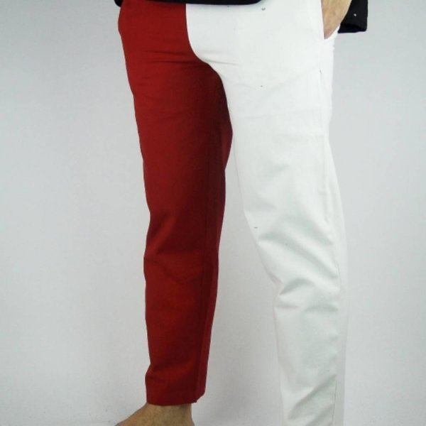 Leonardo Carbone Mi parti bukser, sort / rød