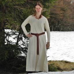 Średniowieczny strój Emma, śmietana