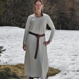 Medeltida klänning Emma, hasselnöt