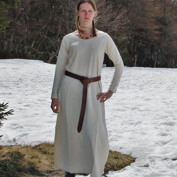 Medieval dress Emma, hazelnut