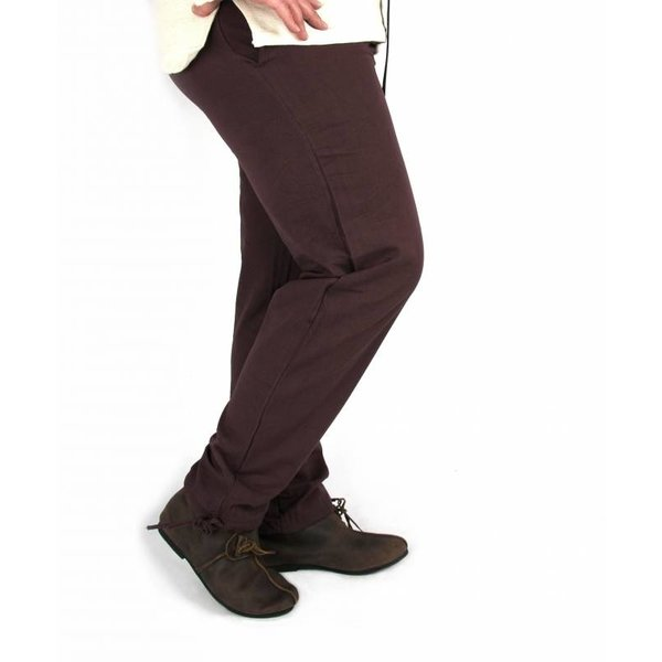 Pantaloni di cotone Alin, blu