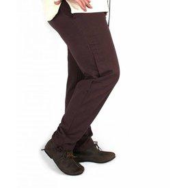 Pantalones de algodón Alin, rojo