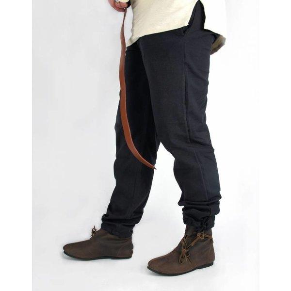 Pantalon en coton Alin, rouge