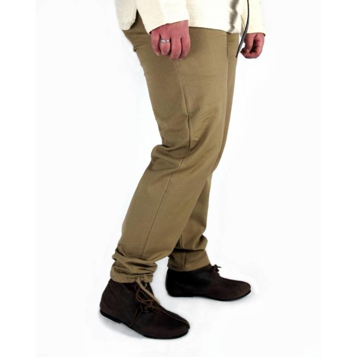 Leonardo Carbone Pantalones de algodón Alin, rojo