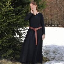 Viking klänning Lina, svart