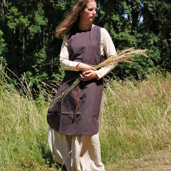 Surcoat Sigrid, mørkebrun