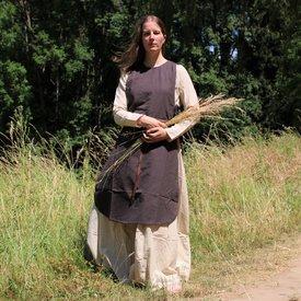 Surcot Sigrid, marron foncé