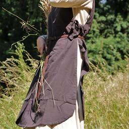 Surcoat Sigrid, dark brown