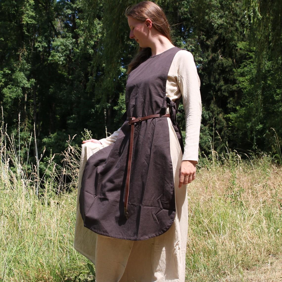 Leonardo Carbone Sobreveste Sigrid, marrón oscuro