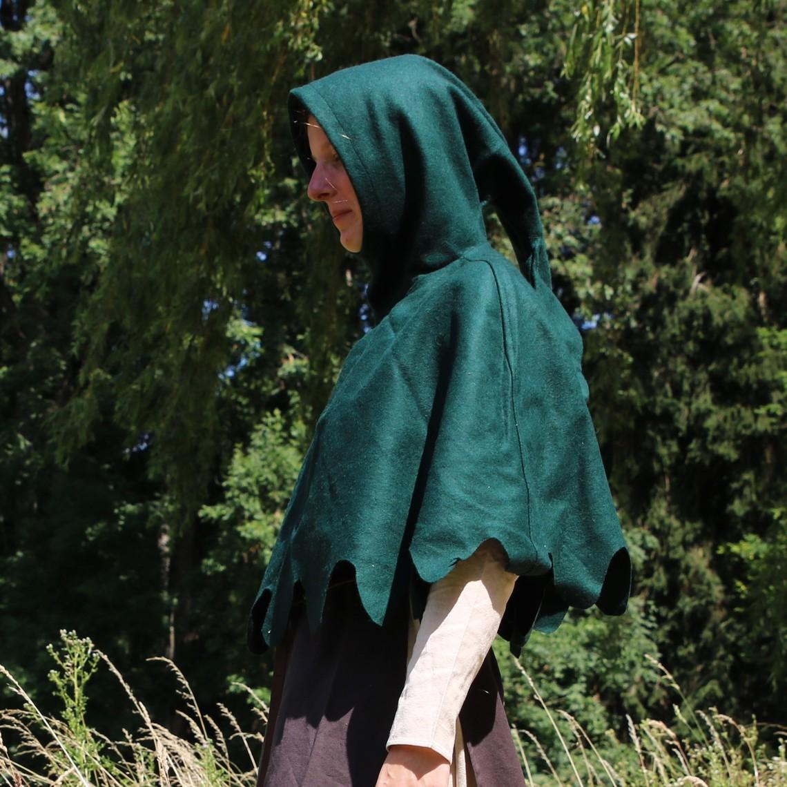 Leonardo Carbone Capucha de lana, verde