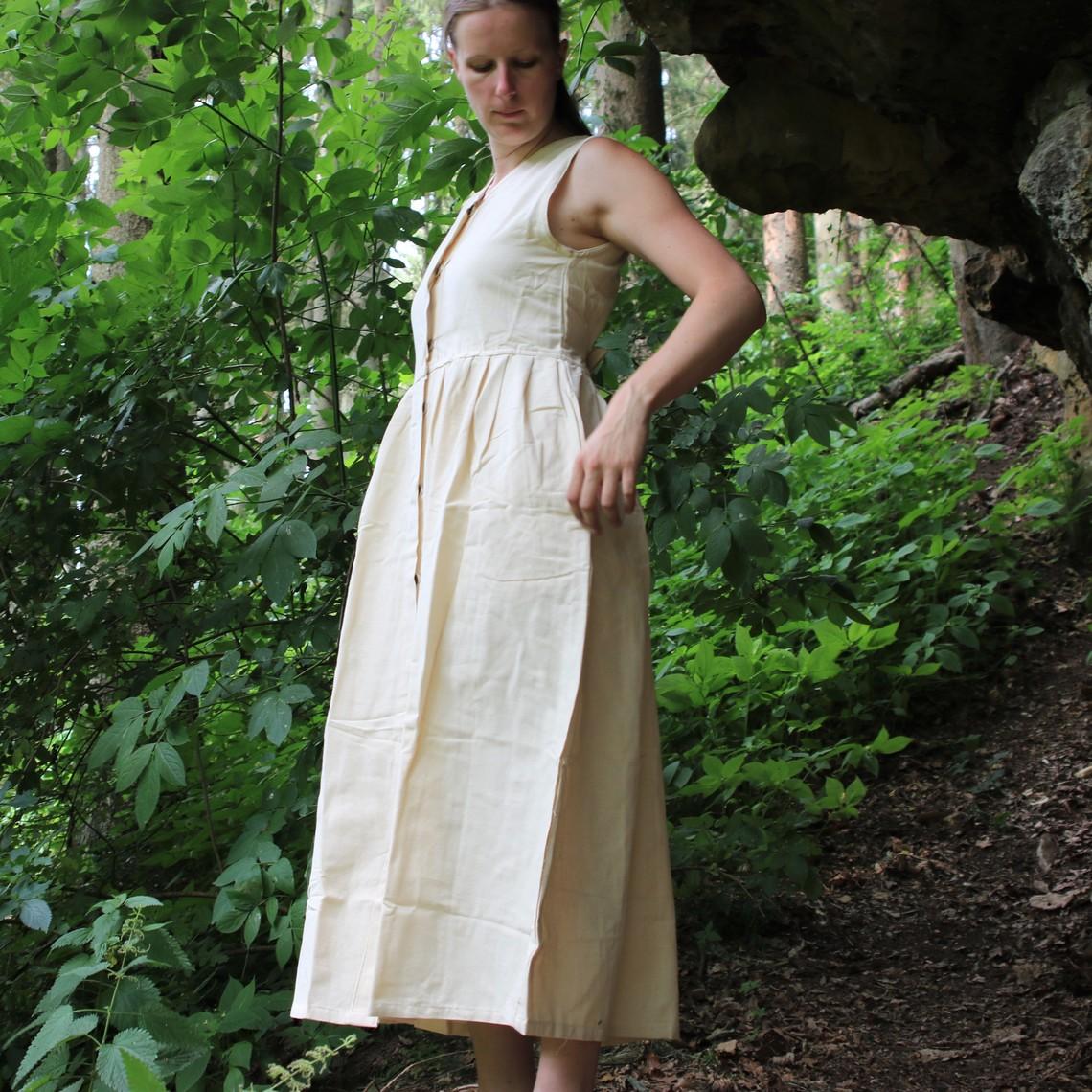 Leonardo Carbone Vestido Alice, crema