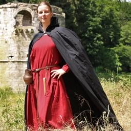 Cotton cloak, black