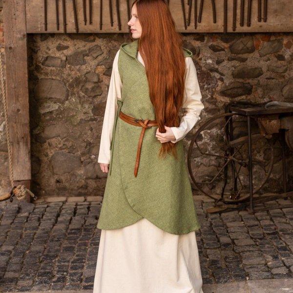 Burgschneider Robe cache-cœur Runa, vert tilleul XXL-XXXL