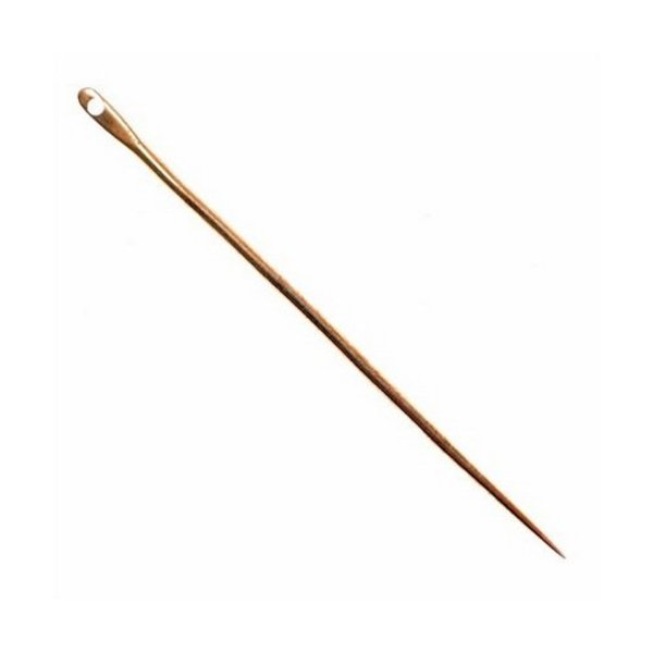 Brass needle 5 cm, price per piece
