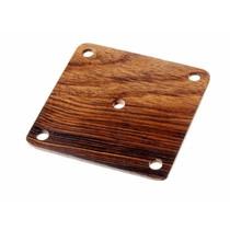 Wooden weaving card