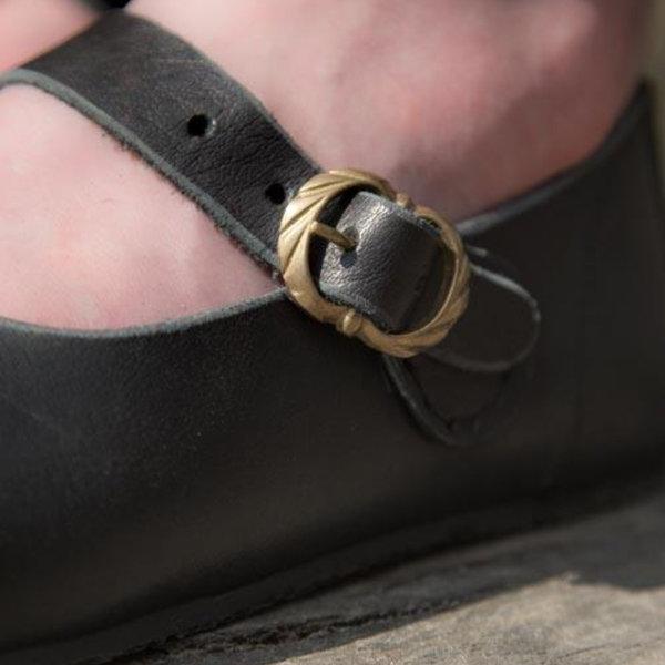 Epic Armoury Medieval ladies shoes Astrid, black