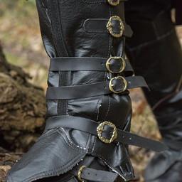 Pirate gaiters, black