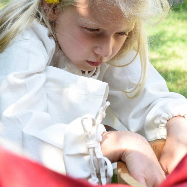 Barn klänning Matilda, naturlig