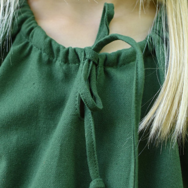 Kids dress Matilda, green